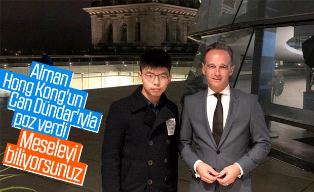 Çin ile Almanya arasında Hong Kong gerilimi