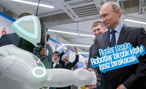 Robotlar 2030 yılına kadar Rusları işsiz bırakacak