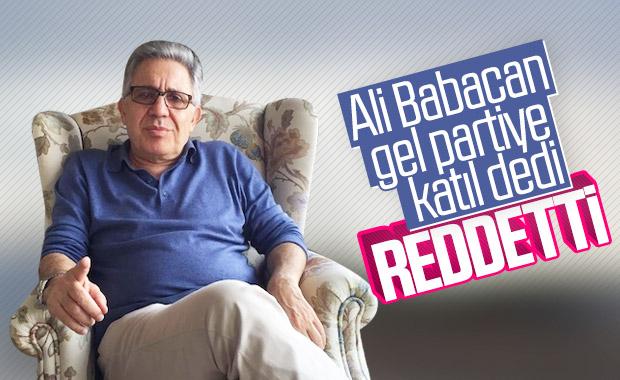 Ali Babacan, Zülfü Livaneli'ye teklif götürdü