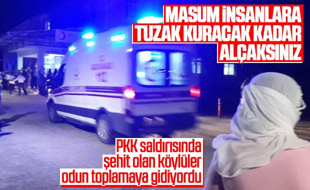 Diyarbakır Valiliği: Saldırıda köylü vatandaşlarımız şehit oldu