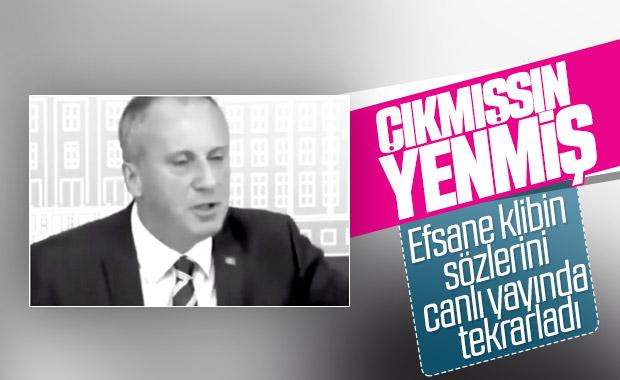 Muharrem İnce, Erdoğan'ın başarılarını anlattı
