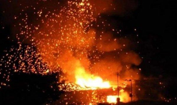 KKTC'de askeri bölgede art arda patlamalar