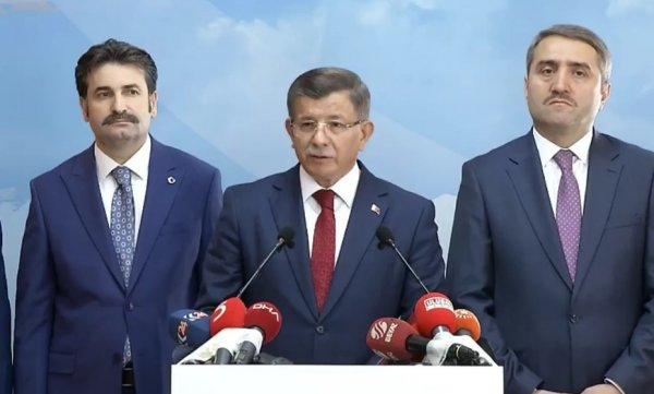 Haber kanalları Davutoğlu'nun istifasını canlı veremedi