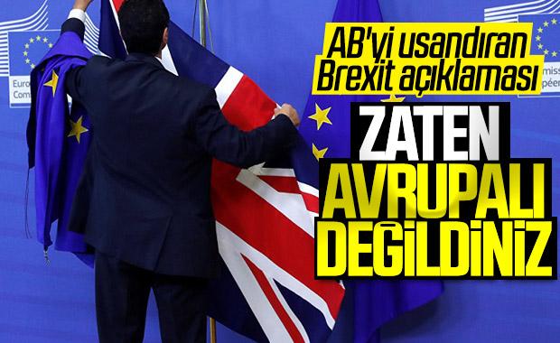 AB'den İngiltere'ye: Avrupalı değildiniz