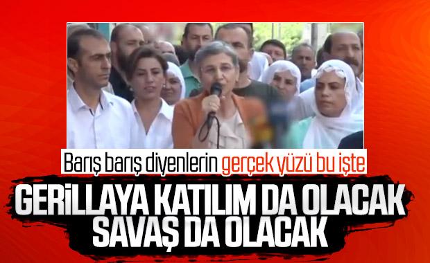 HDP'li Leyla Güven'den savaş tehdidi