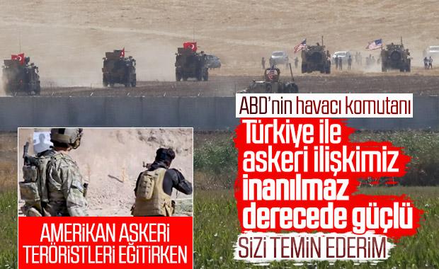 ABD'li komutan: Türkiye ile bağımız inanılmaz derecede
