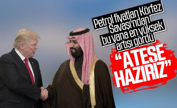 Trump'tan S.Arabistan'a saldırıya hazırız mesajı