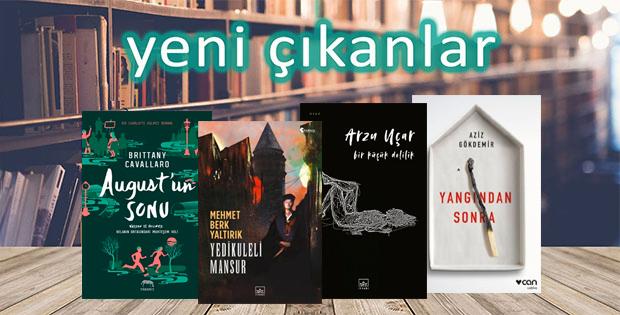 Yeni çıkan kitaplar - 16 Eylül 2019