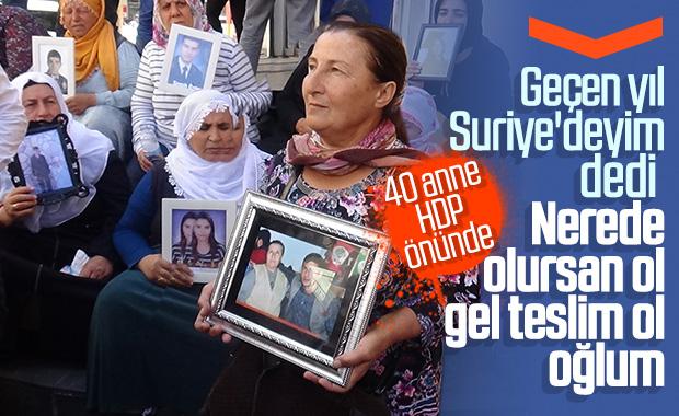 HDP önünde eylem yapan aile sayısı 40'e yükseldi