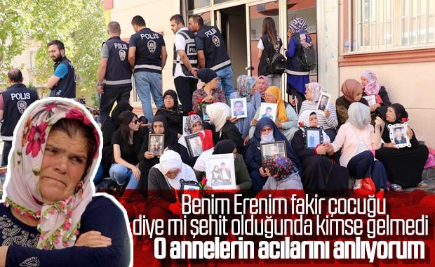 Eren Bülbül'ün annesinden Diyarbakır annelerine destek