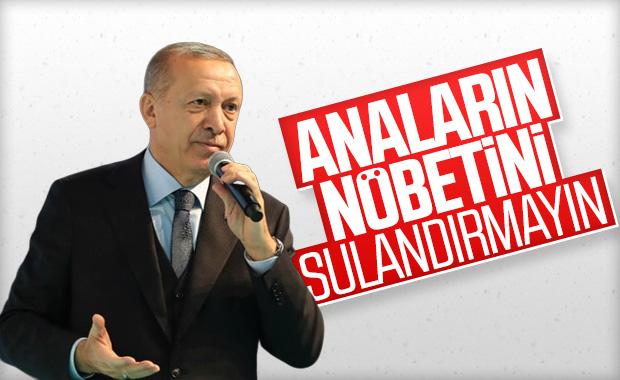 Erdoğan: Diyarbakır annelerini yalnız bırakmayın