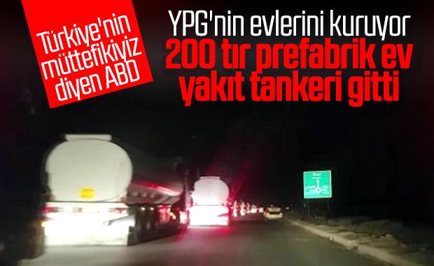 ABD yine YPG'ye malzeme yardımı yaptı