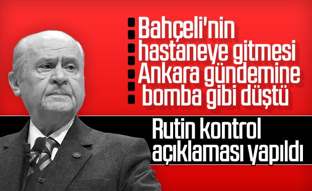 Ankara'yı hareketlendiren Devlet Bahçeli haberi