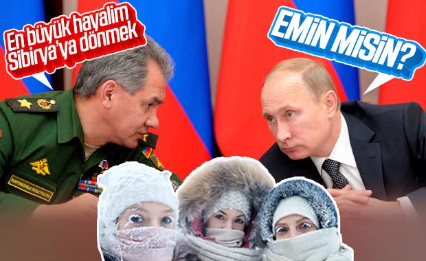 Sergey Şoygu: Sibirya'ya dönmek en büyük hayalim
