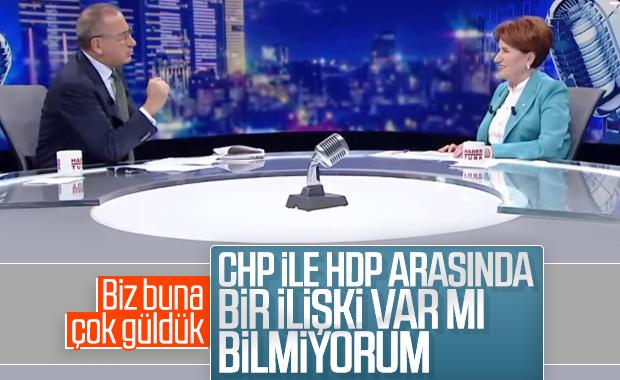 Meral Akşener, CHP-HDP ilişkisi hakkında konuştu