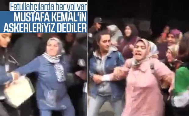 FETÖ tutuklularının aileleri eylem yaptı