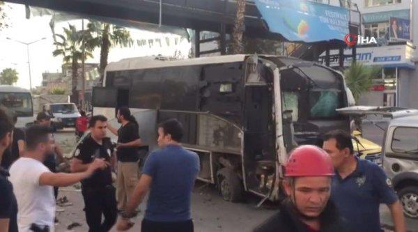 Adana'nın Yüreğir ilçesinde patlama oldu