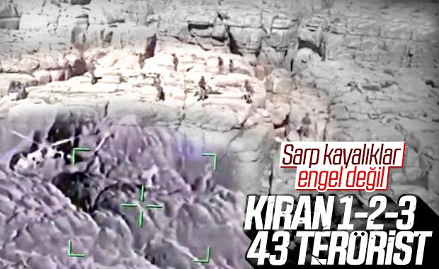 Kıran operasyonlarında toplam 43 terörist öldürüldü