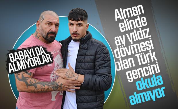 Elindeki dövme nedeniyle Alman okuluna alınmayan Türk