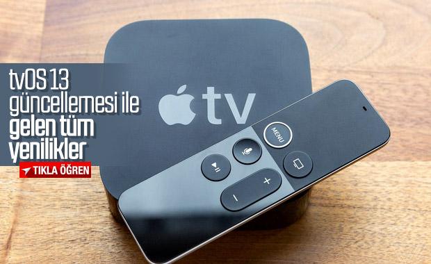 Apple tvOS 13 güncellemesi ile Apple TV'lere gelen yenilikler