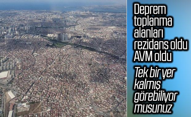 İstanbul'daki acil toplanma alanları