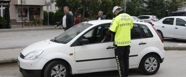 5 bin 63 sürücü, Dumansız Araç Uygulaması'na takıldı