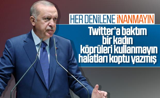 Erdoğan'dan deprem sonrası ilk açıklama
