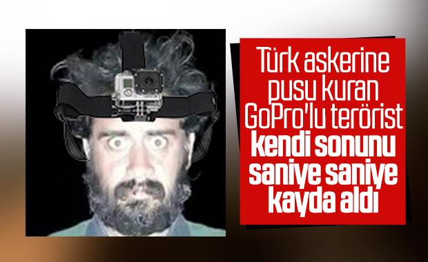 GoPro'lu teröristin öldürüldüğü anlar