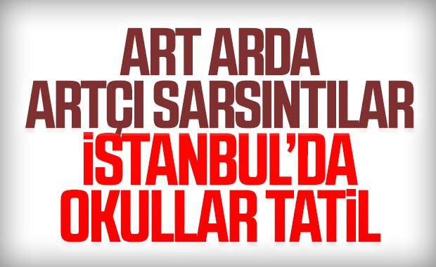 İstanbul Valiliği: Okullar tatil edildi