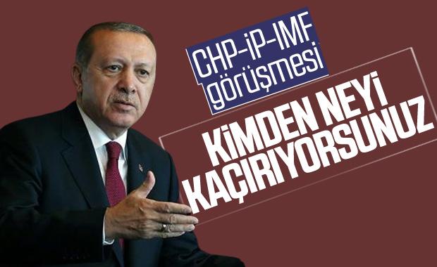 Erdoğan'dan CHP'ye İyi Parti'ye ve İsrail'e tepki
