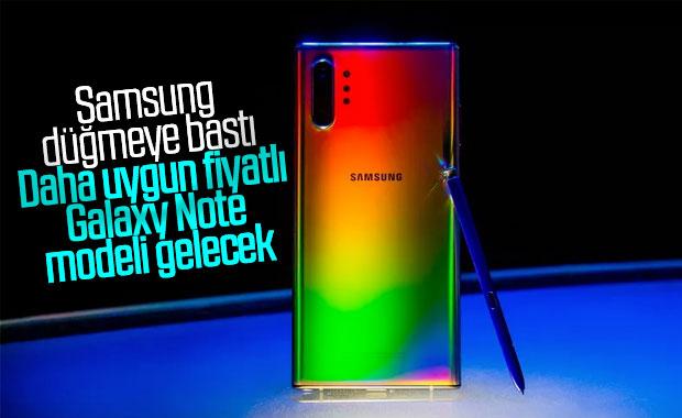 Samsung, uygun fiyatlı Galaxy Note modeli üzerinde çalışıyor