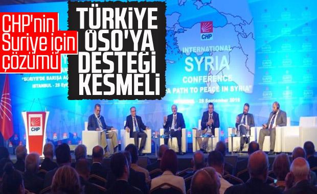 CHP, Suriye konferansının özetini paylaştı