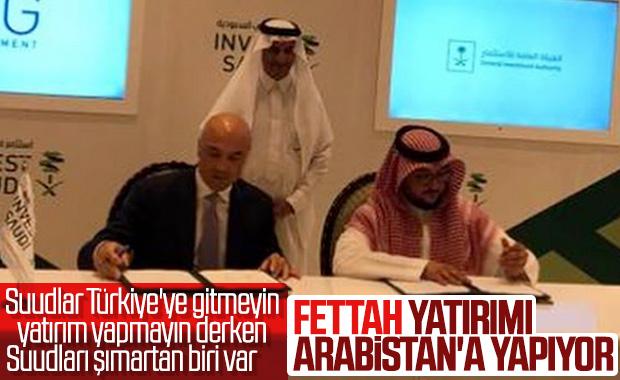 Fettah Tamince, Suudi Arabistan'a yatırım yaptı