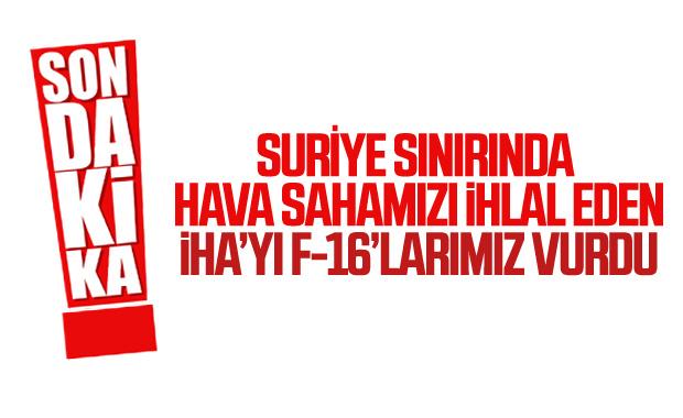 Türk Hava Sahası'nı 6 kez ihlal eden İHA vuruldu