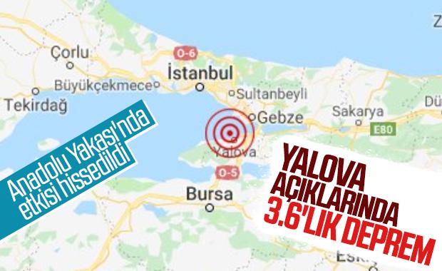 İstanbul'da yeni bir deprem daha