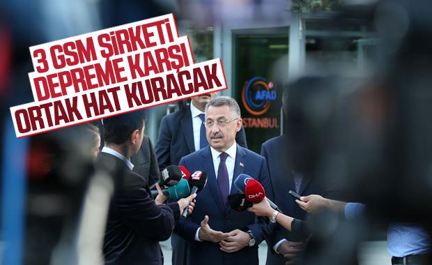 Cumhurbaşkanı Yardımcısı Oktay'dan GSM açıklaması