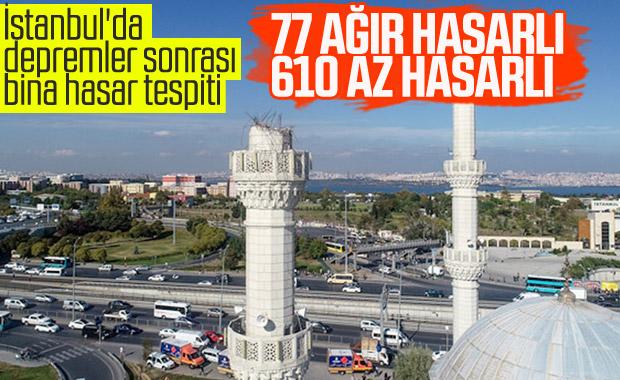 İstanbul'da deprem sonrası bina hasar tespiti