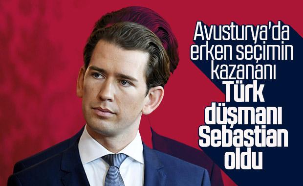 Avusturya'da seçimleri kazanan, Sebastian Kurz