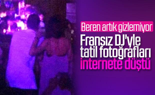 Beren Saat ile DJ Maga'nın tatil fotoğrafları