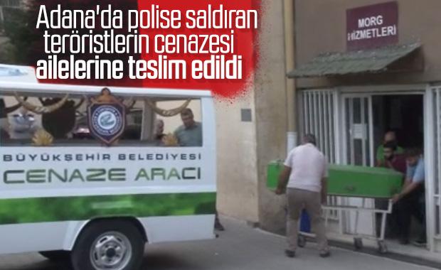 Bombalı saldırı yapan teröristlerin cesetleri morgdan alındı