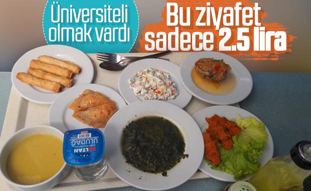 Üniversitelerdeki ucuz öğle yemekleri