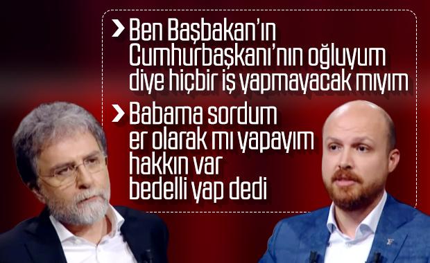 Bilal Erdoğan, Ahmet Hakan'ın sorularını yanıtladı