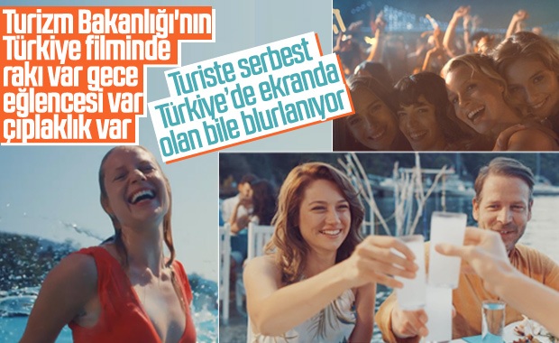Kültür ve Turizm Bakanlığı'nın Türkiye tanıtım filmi