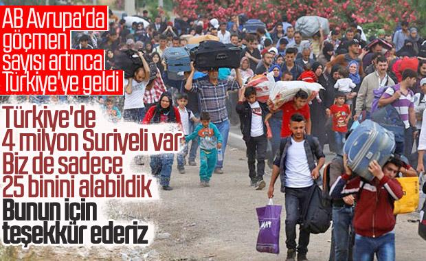 AB, mülteci sorunu için Türkiye'de