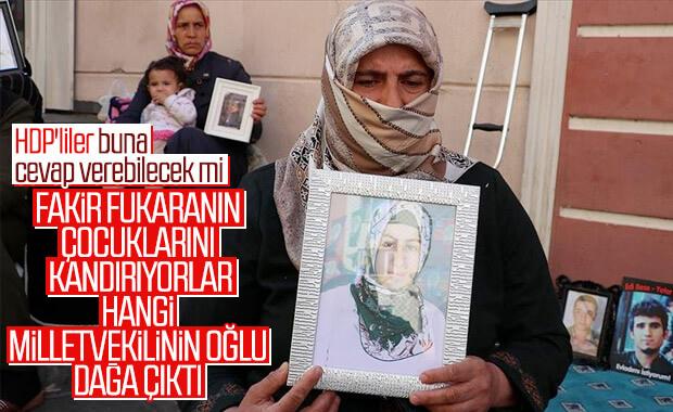 Diyarbakır'daki anne nöbetine bir anne daha katıldı