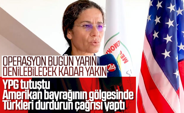 Erdoğan'ın operasyon sinyali YPG'yi endişelendirdi