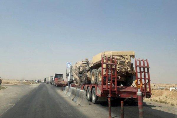 YPG'li teröristler tutuştu, sınıra yerleşti