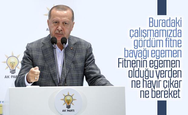 Cumhurbaşkanı Erdoğan'ın Kızılcahamam Kampı konuşması