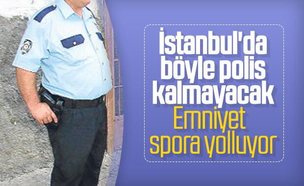 İstanbul'daki polisler spora başlıyor