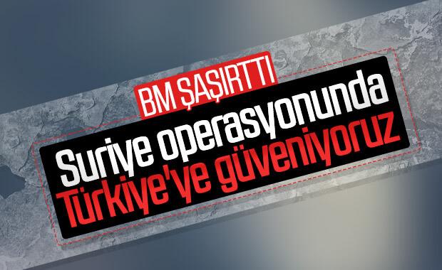 BM'den Türkiye için olası harekat açıklaması